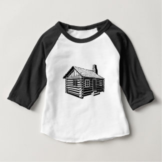Log Cabin Baby T-Shirt