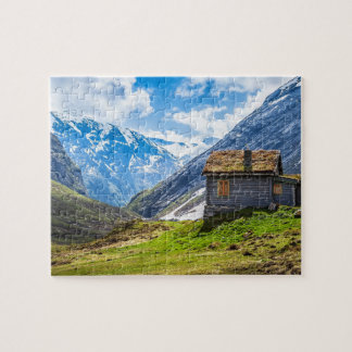Log Cabin In Bavaria Jigsaw Puzzle