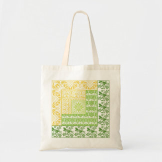 Log Cabin Spring Tote Bag