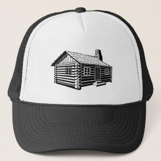 Log Cabin Trucker Hat