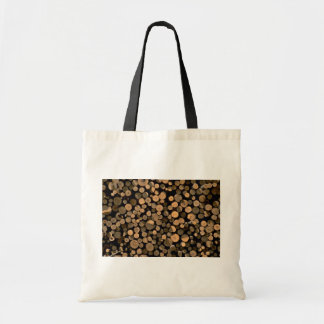 Log cord tote bag