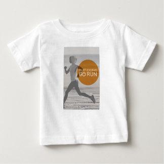 Log Off Shut Down Go Run Baby T-Shirt
