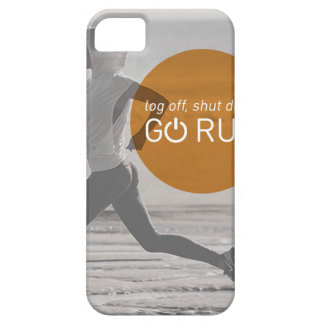 Log Off Shut Down Go Run Case For The iPhone 5