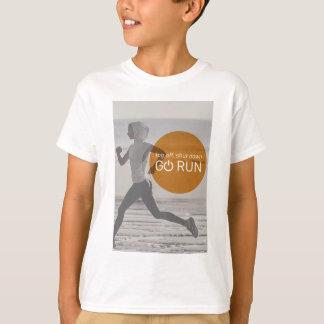 Log Off Shut Down Go Run T-Shirt