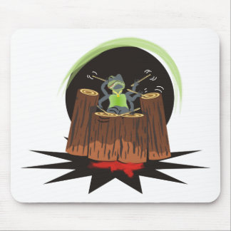 log rhythms mouse pad
