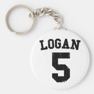 Logan 5 Carrousel Lastday Basic Round Button Keychain
