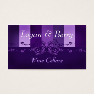 Logan & Berry Business Card