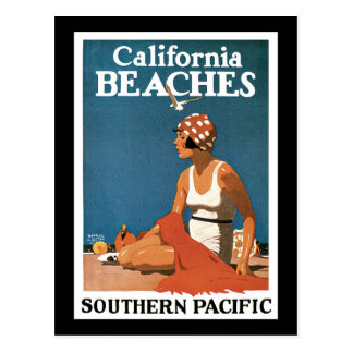Logan California Beaches Postcard