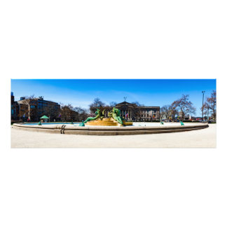 Logan circle, Philadelphia PA Photo Print