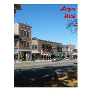 Logan - Main Street Postcard