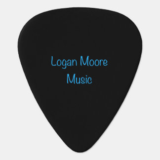 Logan Moore Music Guitar Pick