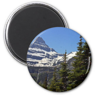 Logan Pass In Glacier National Park Magnet