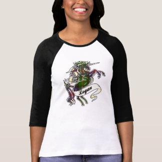 Logan Tartan Unicorn T-Shirt