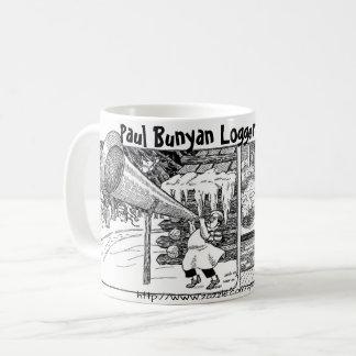 """Logger Breakfast, Paul Bunyan style"" Coffee Mug"