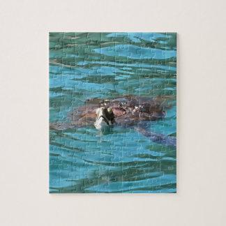 Loggerhead Sea Turtle Jigsaw Puzzle