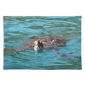Loggerhead Sea Turtle Placemat