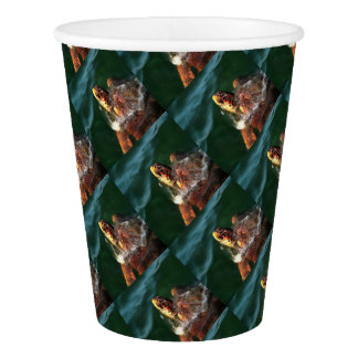 Loggerhead Turtle Paper Cup