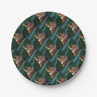Loggerhead Turtle Paper Plate