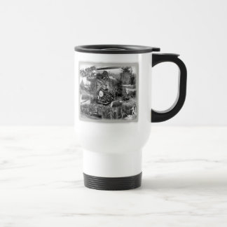 Logging Travel Coffee Mug