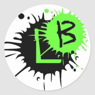 Loggo-b Classic Round Sticker