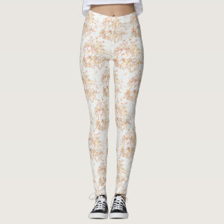 Loght Lions Patterrned Leggings