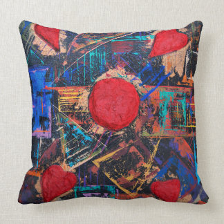 Logic and Emotion 4 Throw Pillow