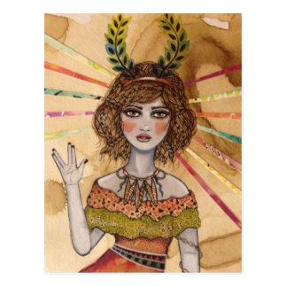 Logical Leighla Postcard