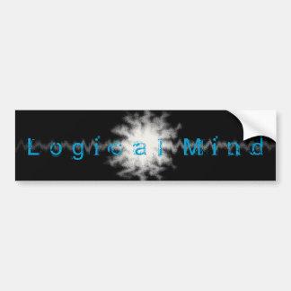 Logical Mind Bumpter Sticker Car Bumper Sticker