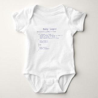 Logique de bébé tshirt