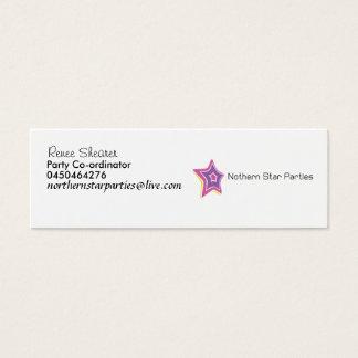 logo_120, Renee Shearer, Party Co-ordinator, 04... Mini Business Card