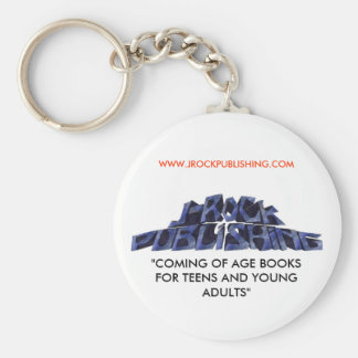 "logo 12 copy.jpgnoback, ""COMING OF AGE BOOKS FO... Keychain"