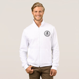 Logo 1 Mens Fleece Zip Jogger Jacket