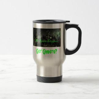 logo (2), Got Ghosts? Travel Mug