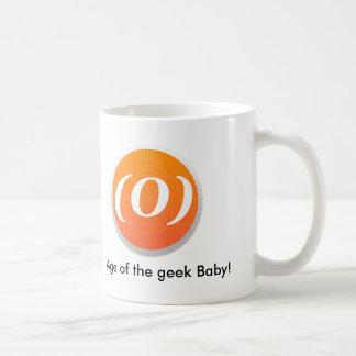 """Logo """"Age of the Geek Mug"""" Basic White Mug"""