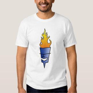"Logo bleu de ""TORCHE"" de Tiki Tshirts"