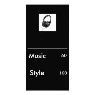 logo bp, _______________________________, Music... Customized Photo Card