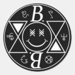 Logo Bromance Smiley Autocollants