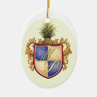 logo ceramic ornament