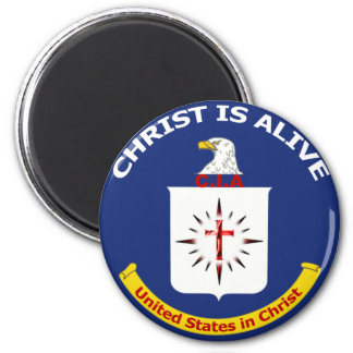 "Logo CIA ""Christ Is Alive"" Magnets"