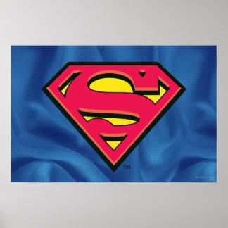 Logo classique du S-Bouclier | de Superman Poster
