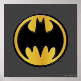 Logo classique du symbole | de Batman Poster