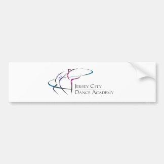 Logo d'académie de danse de Jersey City Autocollant De Voiture