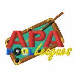 Logo d'APA PoolLeagues Veste De Sport Brodée