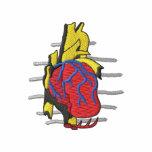 Logo de cardiologie sweat-shirt avec capuche