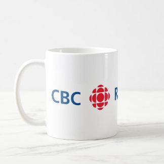 Logo de CBC/Radio-Canada Mug Blanc