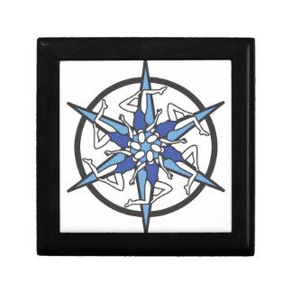 Logo de cercle de natation synchronisée dans le bl boîtes à bijoux