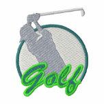 Logo de golf polo brodé