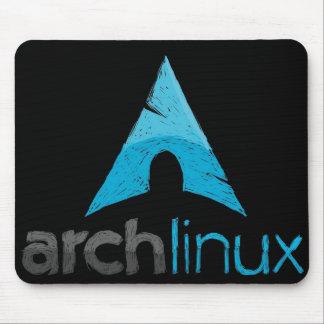 Logo de Linux de voûte Tapis De Souris
