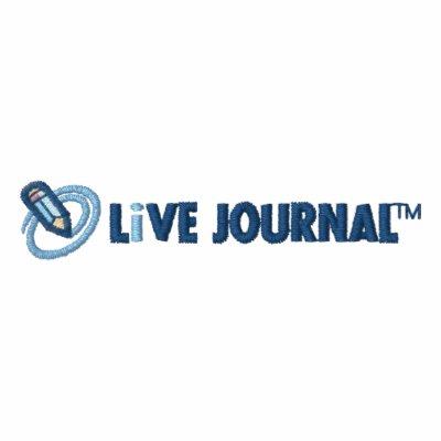 Logo de LiveJournal horizontal Vestes Brodées