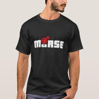 Logo de Murse sur le noir T-shirt